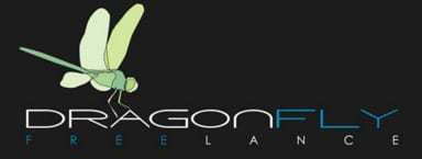 dragonfly freelance logo
