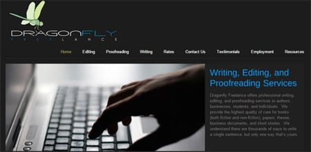 dragonfly writing and editing services