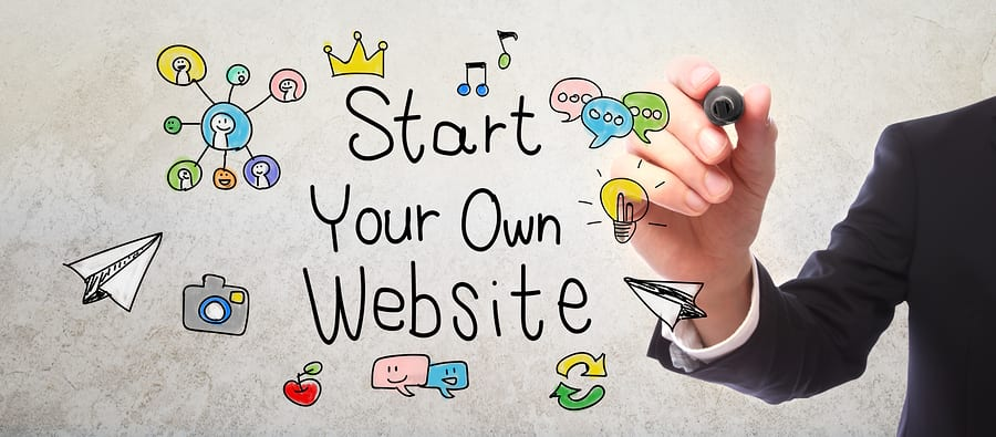 a website as part of your digital marketing strategy
