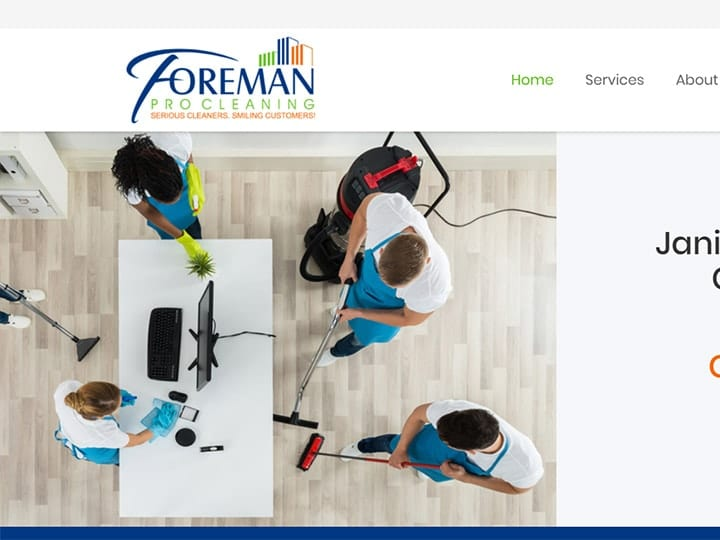 foreman pro commercial cleaning